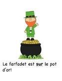 """Jour de la Saint Patrick - """"sur, sous, dans, derriere, dev"""