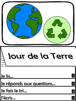 Jour de la Terre - 22 avril - Texte informatif - Livre à rabats (Flip Book)