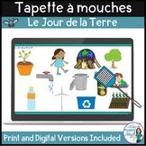 Jour de la Terre:  Earth Day Themed Game in French - La tapette à mouches
