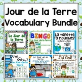 Jour de la Terre:  Earth Day Themed Vocabulary BUNDLE in French