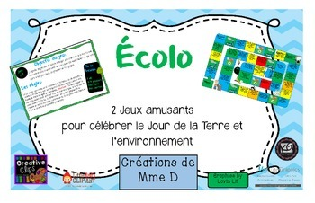 Jour de la Terre - Environnement JEUX