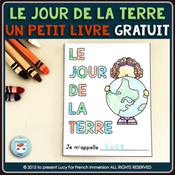 Jour de la Terre - FREE French Earth Day Mini-Book