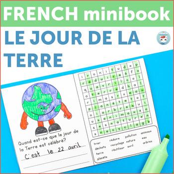 Jour de la Terre - FREE French Earth Day Mini-Book