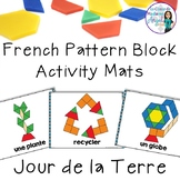 Jour de la Terre:  French Earth Day Pattern Block Pictures