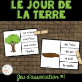 Jour de la Terre - jeu d'association #1 - French Earth Day Clip Cards