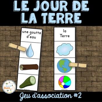 Jour de la Terre - jeu d'association #2 - French Earth Day