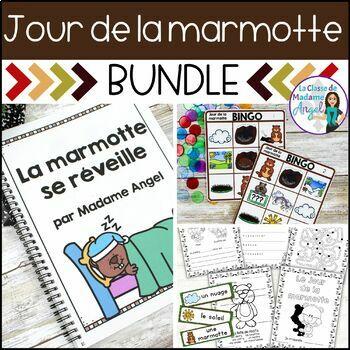Jour de la marmotte:  French Groundhog Day BUNDLE