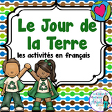 Jour de la Terre:  Earth Day Literacy Activities in French