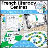 Jour de la Terre:  French Earth Day Literacy Activities