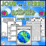 Jour de la terre  (produit en français - French Earth Day product)