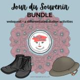 Jour du Souvenir   French Activities BUNDLE