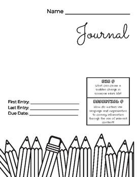 Journal! 9 CLASS WARMUPS!