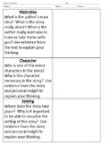 Journal Activity: Theme, Plot, Main Idea