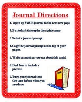 Journal Center Directions