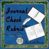 Journal Check Rubric