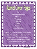 Journal Cover Sheets