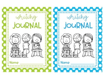 Journal Covers - Primary