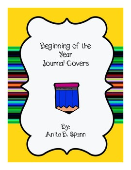 Journal Covers for All Subjects