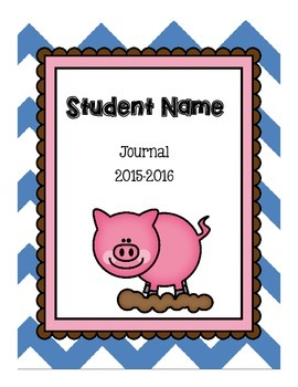 Journal Covers - Pig Theme