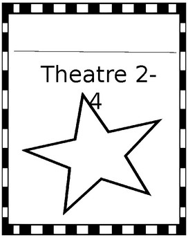 Journal Covers- Theatre