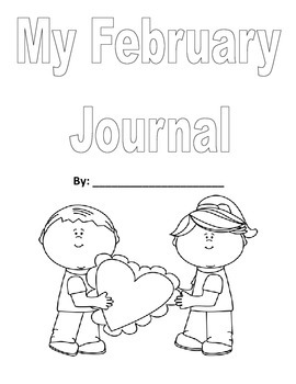 Journal Covers for each month to color
