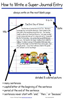 Writing Journal - Creating a Super Journal Entry