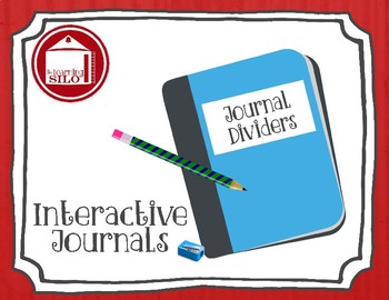 Journal Dividers - Editable Template