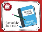 Journal Dividers and Student Progress Monitoring - 8th Science