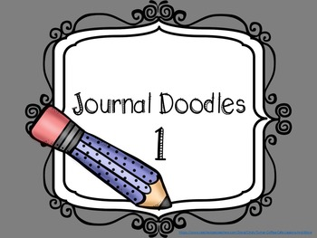 Journal Doodles One - Journal Writing Pages