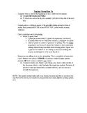 Journal Writing - Sixth Grade Set 1
