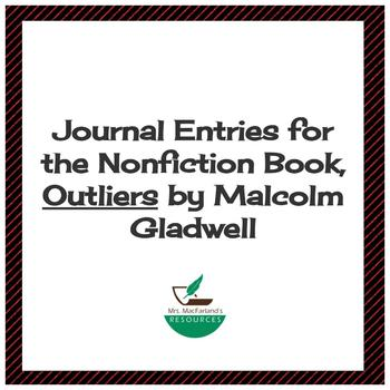 Outliers Malcolm Gladwell Worksheets Teaching Resources TpT