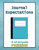 Journal Expectations
