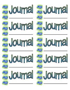 Journal Folder Labels