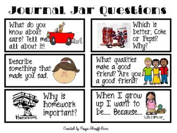 Journal Jar Writing Center