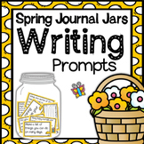Journal Jar Writing Prompts {Spring Themed}