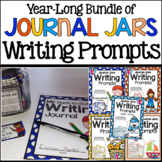 Journal Jars Writing Prompts {Year-Long Bundle}