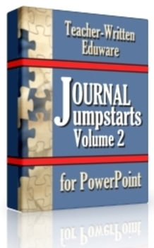 Journal Jumpstarts Volume 2, Free Version for Windows