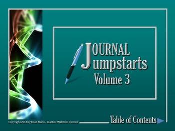 Journal Jumpstarts Volume 3, Free Version for Mac
