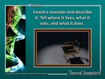 Journal Jumpstarts Volume 3, Free Version for Windows