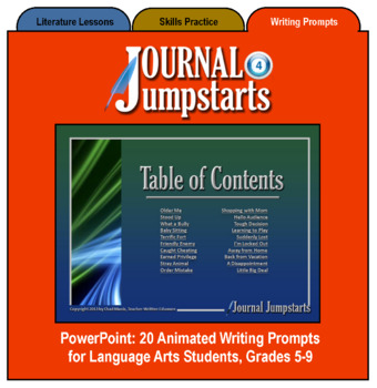 Journal Jumpstarts Volume 4, Full Version