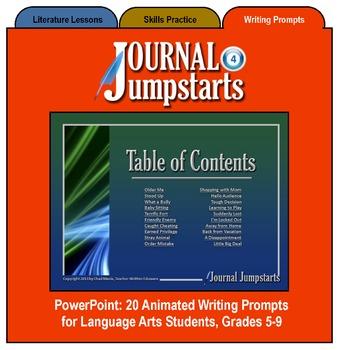 Journal Jumpstarts Volume 4, Full Version for Windows