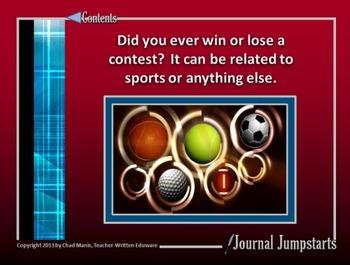 Journal Jumpstarts Volume 5, Free Version for Windows