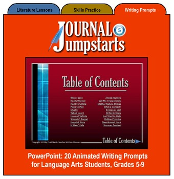 Journal Jumpstarts Volume 5, Full Version for Windows