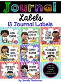Journal Labels- {13 Labels}