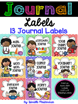 Journal Labels- {13 Labels}