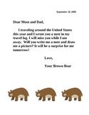 Journal Letters for Parents