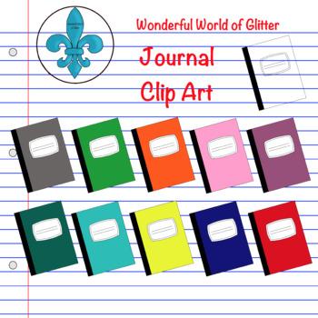 Journal Notebook Clip Art
