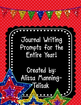 Journal Notebook Writing Prompts