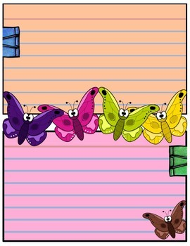 Journal Pages - Butterflies