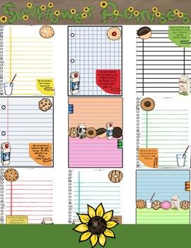 Journal Pages - Cookies & Milk